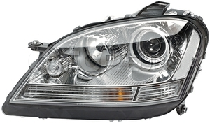 Mercedes Headlight Assembly Right (ML320 ML350 ML550 ML63) - Hella 1648202261