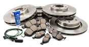 BMW Brake Kit Front and Rear (M3 Z3 E36) - Akebono/Brembo M3E36KIT