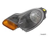 Porsche Headlight Assembly Left (Boxster) - Magneti Marelli 98663113104