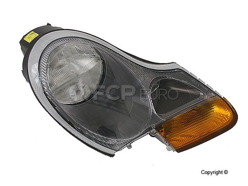 Porsche Headlight Assembly Right (Boxster) - Hella 98663113204