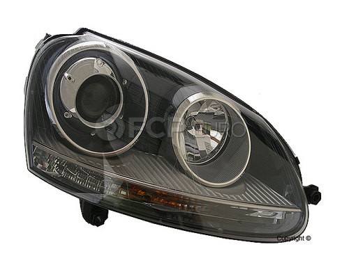 VW Headlight Assembly Right (Getta Rabbit Golf GTI) - Hella 1K6941040B