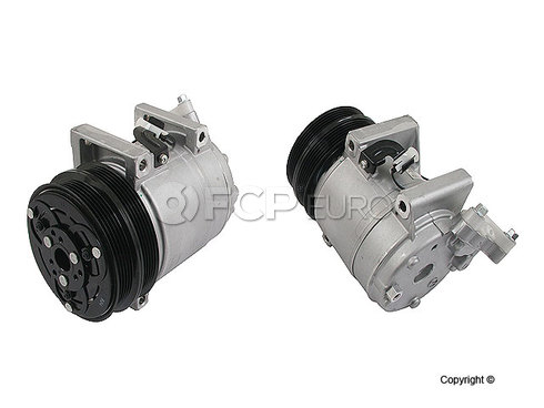 Volvo A/C Compressor w/ Clutch (C30 S40 V50 C70) - Genuine Volvo 36001118
