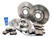 Audi VW Brake Kit - Zimmerman/Akebono 512606