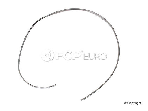 BMW Windshield Seal Chrome Insert - Genuine BMW 51311820622