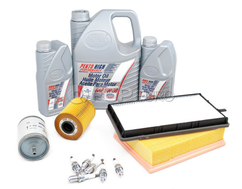 BMW Tune Up and Filters Kit with Oil (E36 325i 325is) - E36TUNEKIT6-Oil