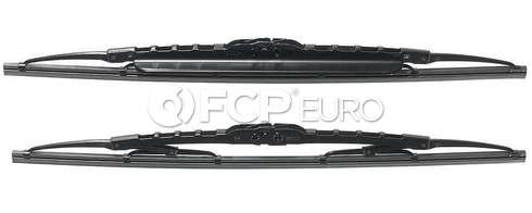 VW Porsche Mini Windshield Wiper Blade Set - Bosch 3397118541