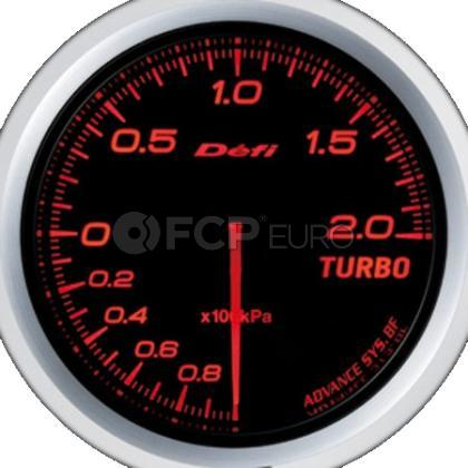 Advance Turbo Boost Gauge BF Red 60mm - Defi DF09902