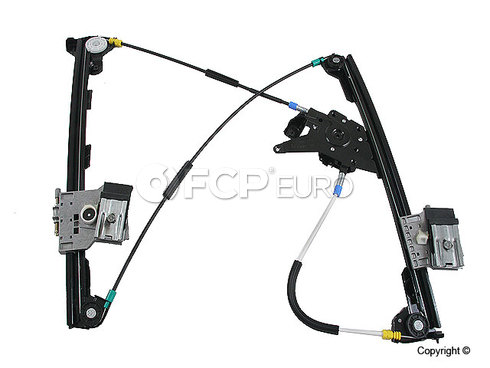 VW Window Regulator Front Right (Cabrio) - Genuine VW Audi 1E0837462