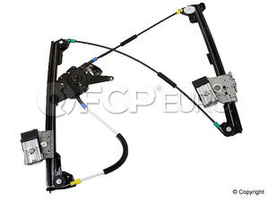 VW Window Regulator (Cabrio) - Genuine VW Audi 1E0837461