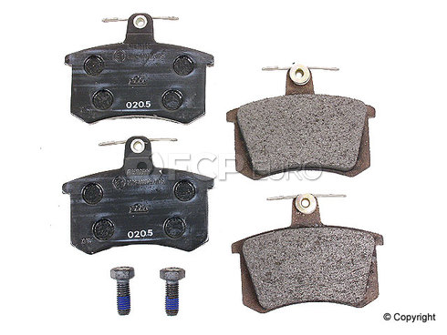 Audi Brake Pad Set - ATE D363A