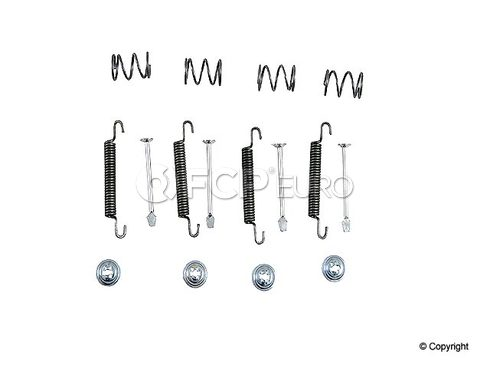 Saab Parking Brake Shoe Spring Kit (9-3 9-5) - TRW 8960711