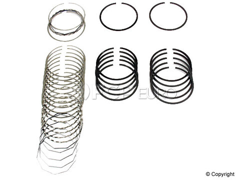 Porsche Piston Ring Set (911) - Deves 1949