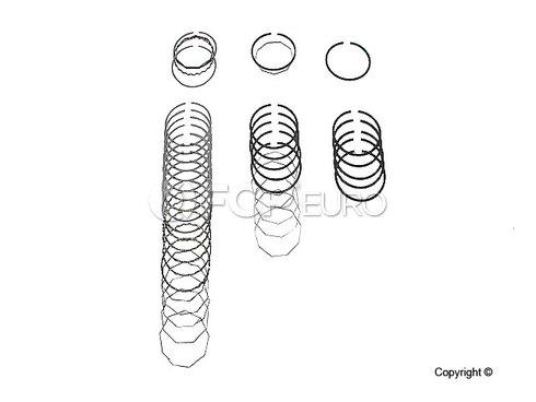 Porsche Piston Ring Set (911) - Deves 1891