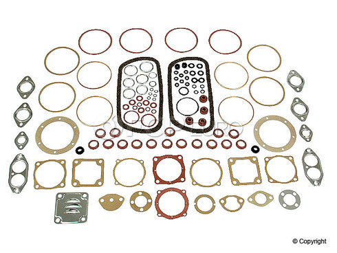 VW Full Gasket Set (Transporter Beetle Karmann Ghia) - Euromax 111198005BR