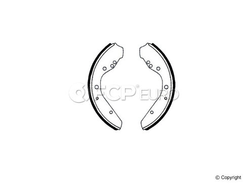 VW Drum Brake Shoe Set (Super Beetle 411 412 Beetle) - Enduro 392