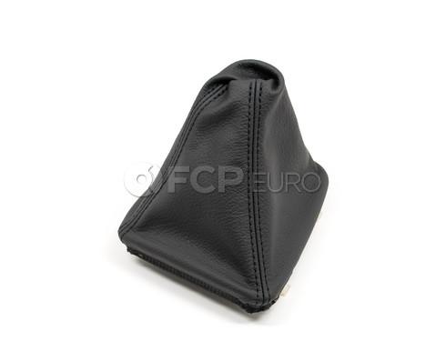 BMW Black Leather Shift Boot - Genuine BMW 25111434426