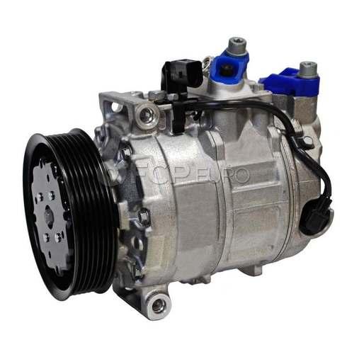 Audi VW A/C Compressor (A8 Quattro Phaeton) - Denso 4E0260805F