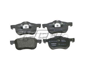 "Volvo Brake Pad Set 12.6"" (S60 V70 XC70 S80) - Genuine Volvo 31262503"