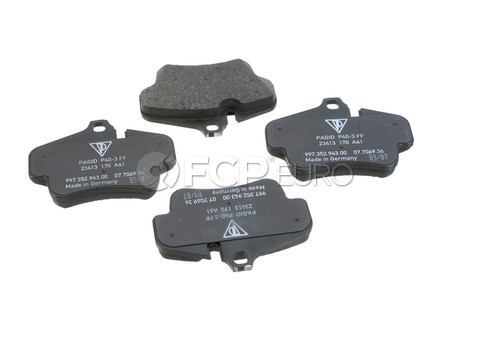 Porsche Brake Disc Pad Set (911 Boxster Cayman) - Genuine Porsche 99735294800