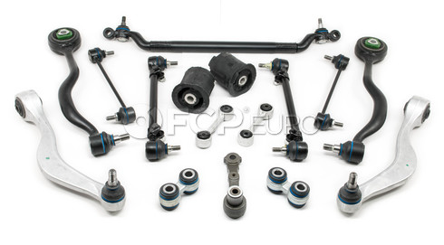 BMW 16-Piece Control Arm Kit (E24 E28) - Meyle E2816PIECE-MY
