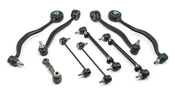 BMW 9-Piece Control Arm Kit (E24 E28) - Meyle E289PIECESTEEL-MY