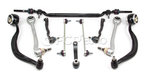 BMW 10-Piece Control Arm Kit (E38) - Lemforder E3810PIECEL