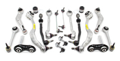 BMW 18-Piece Control Arm Kit (E39 525i 528i 530i) - 525E3918PIECEL