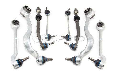 BMW 8-Piece Control Arm Kit (E39 525i 528i 530i) - 525E398PIECE-MY
