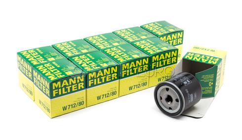 Saab Engine Oil Filter Case(95 96 99 Sonett 900 9000 9-5 9-3) - Mann W712/80-10