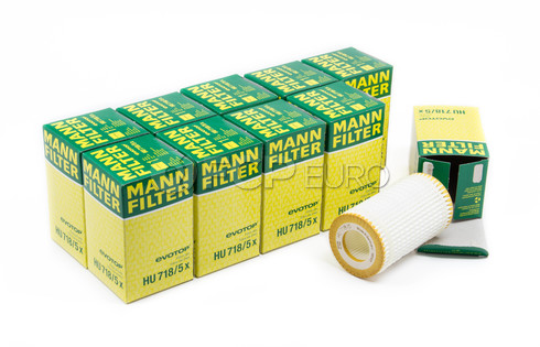Mercedes Oil Filter Case (10 Filters) - Mann HU718/5X-10