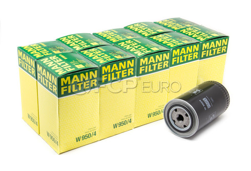 Volvo VW Engine Oil Filter Case (EuroVan Volvo Diesel) - Mann W950/4-10