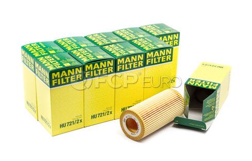 Mercedes Engine Oil Filter Case (E320 W211) - Mann HU721/2X-10