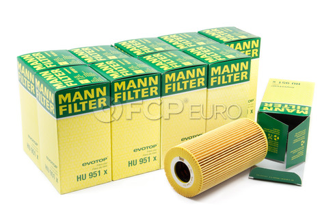 Mercedes Engine Oil Filter Case (E300 W210) - Mann HU951X-10