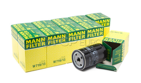 Mercedes Engine Oil Filter Case (W201 W124 W126) - Mann W719/13-10