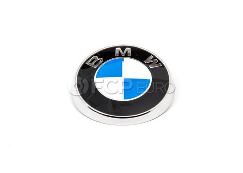 BMW Roundel Emblem (E46)  - Genuine BMW 51148240128