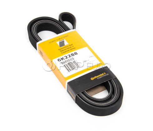 Contitech Sepentine Drive Belt - OEM 6PK2288