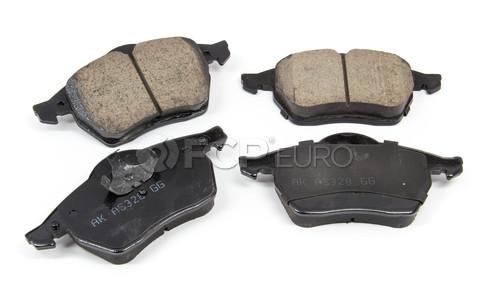 Audi VW Brake Pad Set - Akebono EUR687A