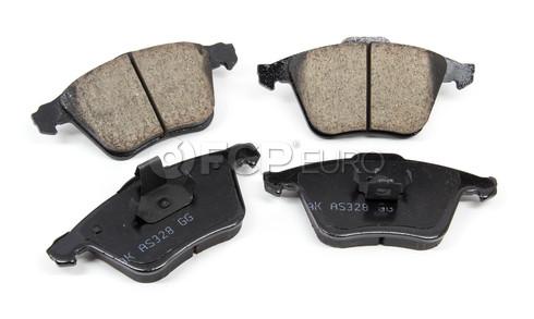 "Volvo Brake Pad Set 12.6"" (S40 V50 C70) - Akebono 30742029"