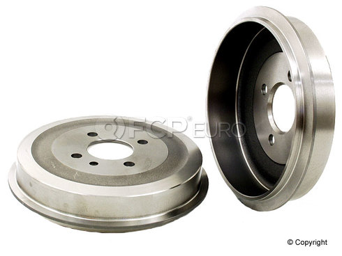 BMW Brake Drum - Zimmermann 34211158556