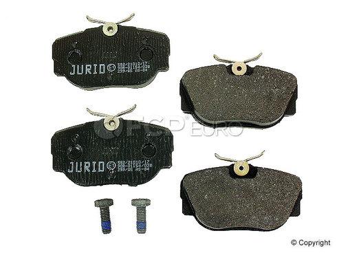BMW Brake Pad Set Front (318i 318is 325) - Jurid 571561J
