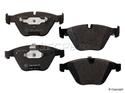 BMW Brake Pad Set Front (745i 745Li 760Li) - Jurid 571990JAS
