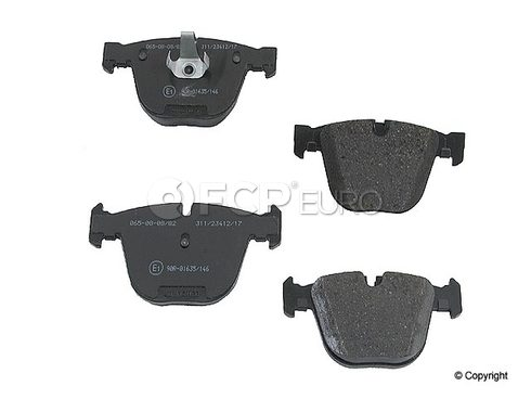 BMW Brake Pad Set Rear (745i 760Li 750i) - Jurid 571991JAS