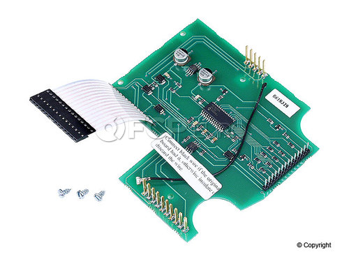 BMW Instrument Panel Circuit Board - Programa 62111394273