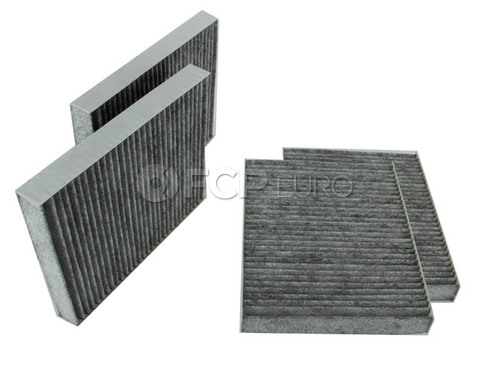 BMW Charcaol Cabin Air Filter Set - Mahle LAK467S