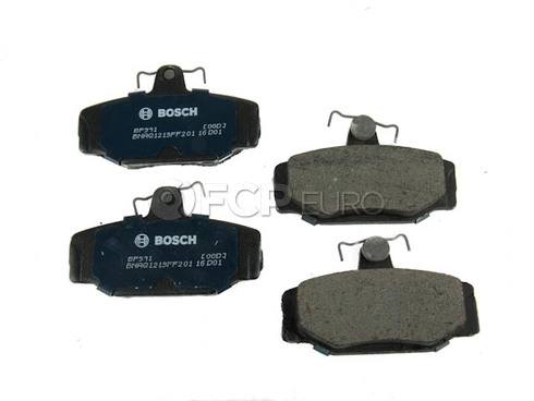 Volvo Brake Pad Set - Bosch 31261186