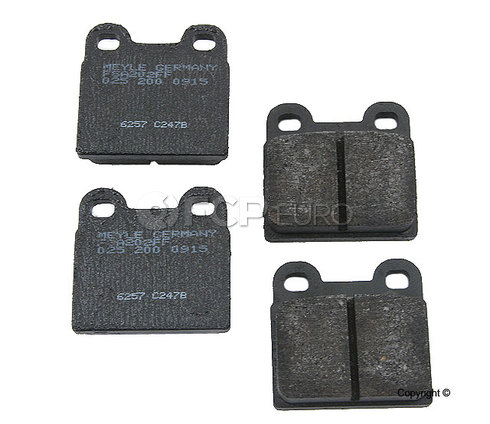 VW Brake Pads Front - Meyle Semi Metallic D101SM