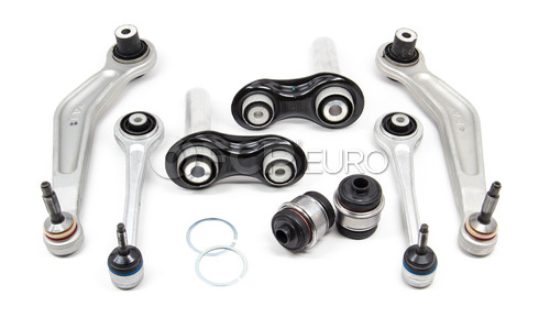BMW Control Arm Kit 8-Piece Rear (525i 530i 545i) - Lemforder E60REARKIT-EARLY