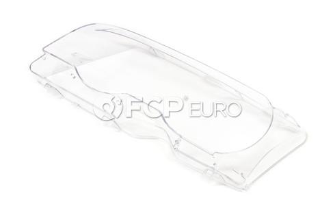 BMW Xenon Headlight Lens Left (E46) - Genuine BMW 63126929565
