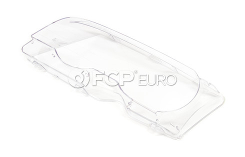 BMW Xenon Headlight Lens Left (E46) - Genuine BMW 63126929565