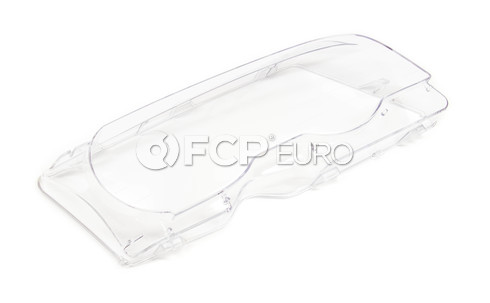 BMW Xenon Headlight Lens Right (E46) - Genuine BMW 63126929566